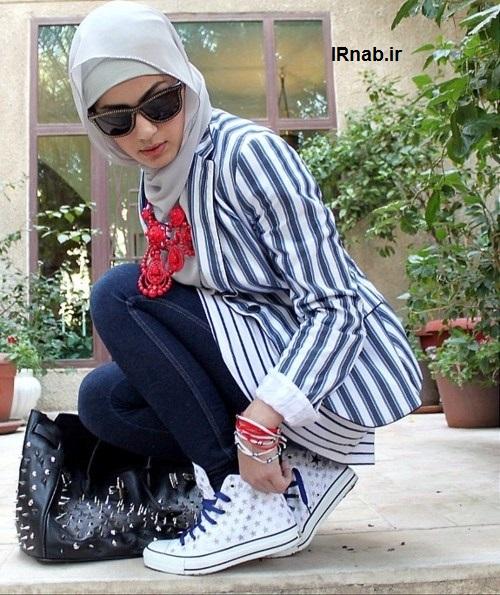 مدل دخترانه با حجال مدل لباس و مانتو با حجاب