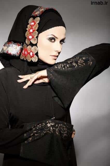 Classy Hijab Burkah Styles 2014 7 مدل لباس و مانتو با حجاب