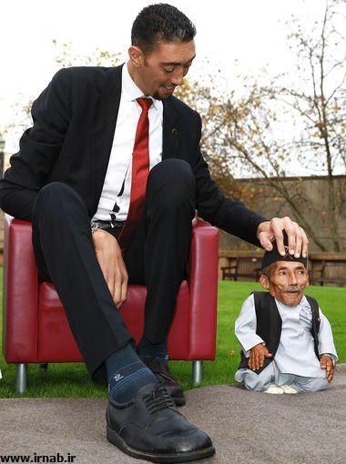 بلندقدترین و کوتاه قدترین مردان جهان بلندقدترین و کوتاه قدترین مردان جهان در کتاب گینس