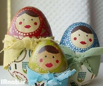 egg noroz96 www irnab ir تزیین تخمه مرغ: عکس های تخم مرغ رنگی برای هفت سین نوروز96