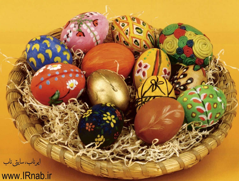 egg noroz96 www irnab ir2 تزیین تخمه مرغ: عکس های تخم مرغ رنگی برای هفت سین نوروز96
