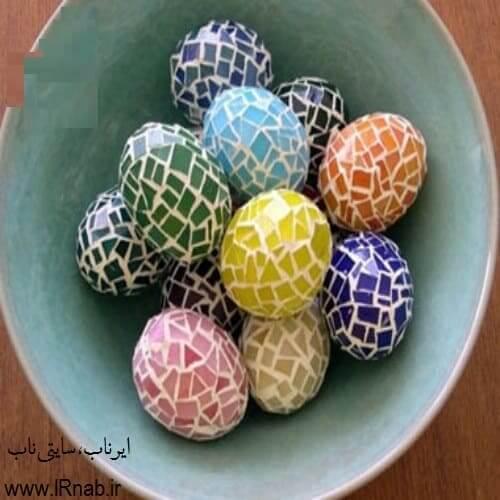 egg noroz96 www irnab ir3 تزیین تخمه مرغ: عکس های تخم مرغ رنگی برای هفت سین نوروز96