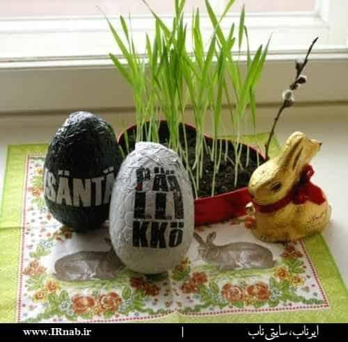 egg noroz96 www irnab ir4 تزیین تخمه مرغ: عکس های تخم مرغ رنگی برای هفت سین نوروز96