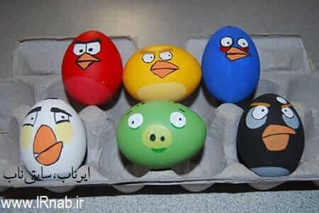 egg noroz96 www irnab ir5 تزیین تخمه مرغ: عکس های تخم مرغ رنگی برای هفت سین نوروز96
