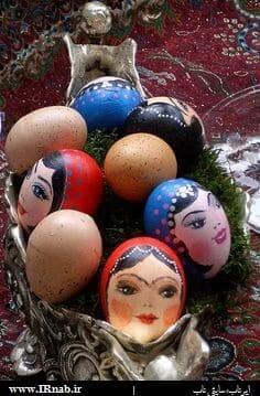 egg noroz96 www irnab ir9 تزیین تخمه مرغ: عکس های تخم مرغ رنگی برای هفت سین نوروز96