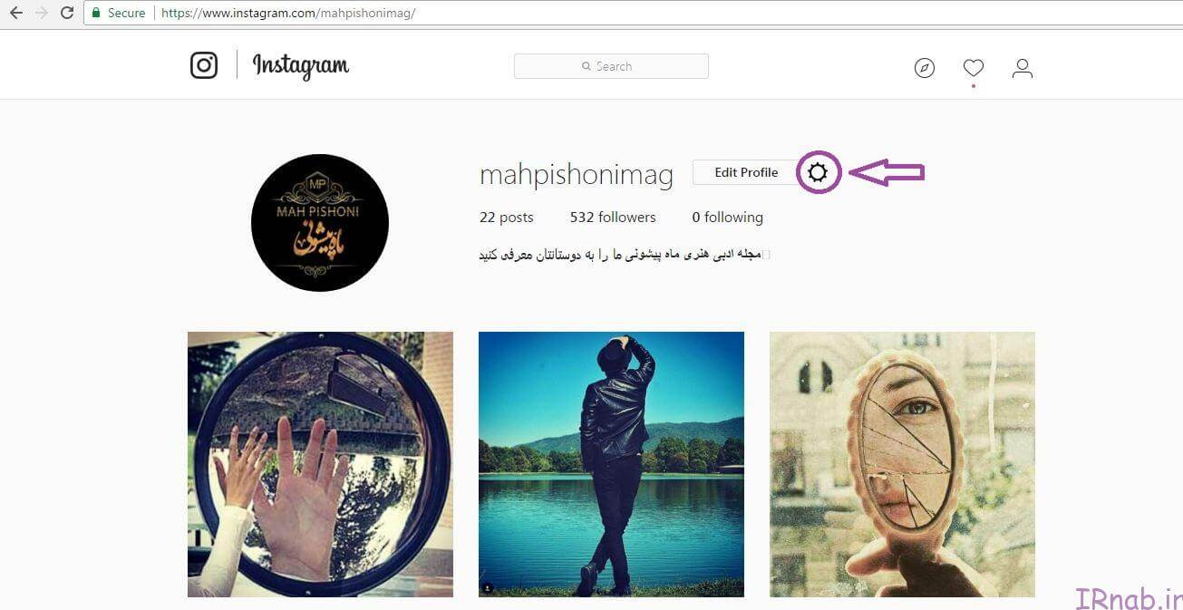 no hack instagram irnab ir2 آموزش جلوگیری از هک شدن اینستاگرام توسط نرم افزارهای افزایش فالوور اینستاگرام + تصویری