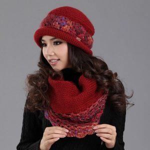 59c782c0e6d2d مدل کلاه بافتنی دخترانه با توضیح irnab ir مدل کلاه بافتنی دخترانه با توضیح