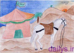 59cb5c49eaf2a نقاشی در مورد ماه محرم irnab ir نقاشی در مورد ماه محرم