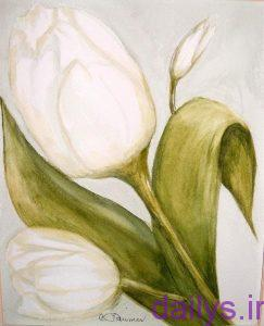 5a2029c1531c1 axhaeeaznaghashi ghollale irnab ir عکس هایی از نقاشی گل لاله
