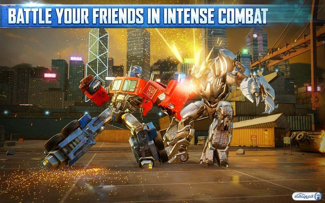 5a22454a67c88 transformers forged to fight irnab ir دانلود TRANSFORMERS: Forged to Fight v4.1.1 بازی تبدیل شوندگان: مبارزات ساختگی برای اندروید
