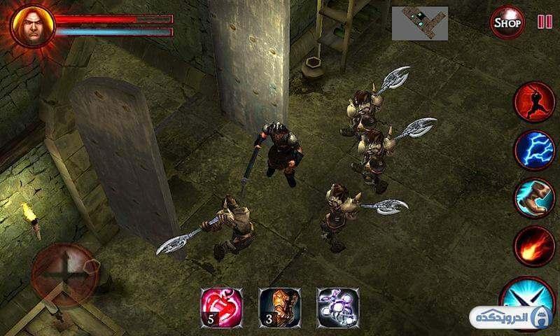 5a24f9ef72337 demons dungeons irnab ir دانلود بازی شیاطین و سیاه چال ها Demons & Dungeons Action RPG v1.9.3 اندروید   همراه نسخه مود + تریلر