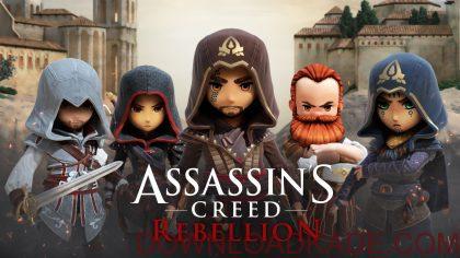 assassins creed rebellion irnab ir دانلود Assassin's Creed: Rebellion 1.3.1 بازی شورش اساسین کرید اندروید + مود + دیتا
