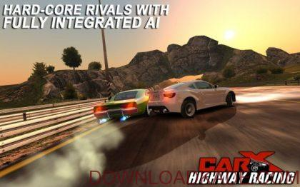 carx highway racing irnab ir دانلود CarX Highway Racing 1.53.3 بازی مسابقات اتومبیلرانی در بزرگراه اندروید + مود + دیتا