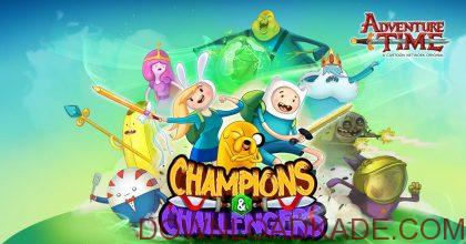 champions and challengers adventure time irnab ir دانلود Champions and Challengers – Adventure Time 1.2بازی وقت ماجراجویی قهرمانان و چالش ها اندروید + مود + دیتا
