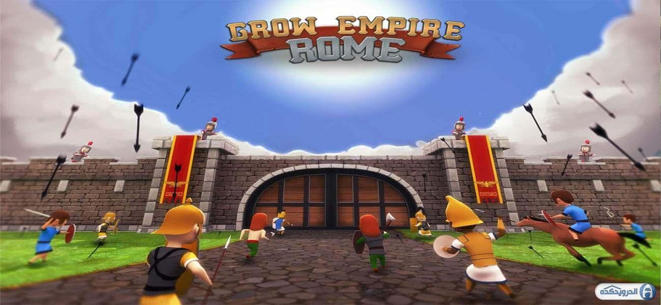 grow empire rome irnab ir دانلود Grow Empire Rome v1.2.13 بازی گسترش امپراطوری روم+مود اندروید