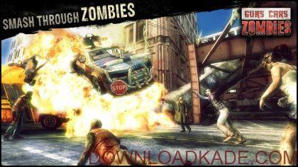guns cars zombies irnab ir دانلود Guns, Cars, Zombies 2.1.5 –بازی نابود کردن زامبی ها با ماشین های جنگی اندروید + مود + دیتا