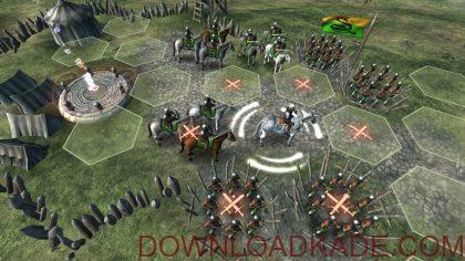 hex commander fantasy heroes irnab ir دانلود Hex Commander: Fantasy Heroes 3.1 بازی فرمانده هگز:قهرمانان قدرتمند اندروید + مود