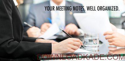meeting notes irnab ir دانلود Meeting Notes 1.13  برنامه یادداشت برداری ساده صوتی اندروید