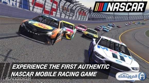 nascar heat mobile irnab ir دانلود NASCAR Heat Mobile v1.3.5 + Mod+data بازی ماشین سواری نسکار  اندروید