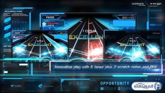 overrapid irnab ir دانلود OverRapid 490v5MK19 بازی موزیکال سرعت بالا اندروید