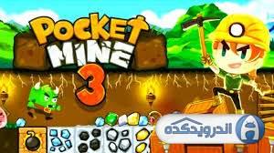 pocket mine irnab ir دانلود Pocket Mine 3 v3.4.2  بازی معدنچی گنج 3 اندروید + مود