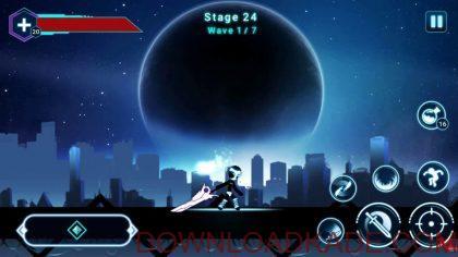 stickman ghost 2 star wars irnab ir دانلود Stickman Ghost 2: Star Wars 4.7 بازی آدمک شبح 2:جنگ ستارگان اندروید + مود