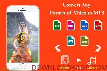 video to mp3 premium irnab ir دانلود Video to mp3 Premium 4.0 نرم افزار تبدیل ویدیو به فایل MP3 اندروید