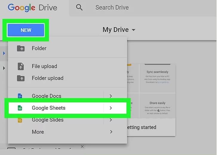 ایجاد فهرست کشویی google sheets با استفاده س irnab ir ایجاد فهرست کشویی در Google Sheets با استفاده از سیستم ویندوز و مک