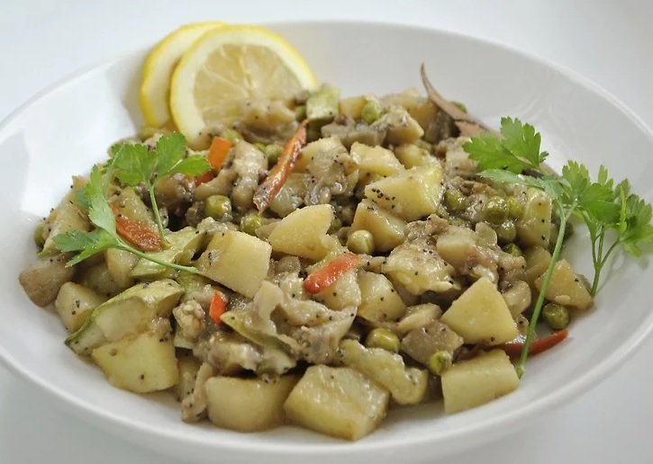 طرز تهیه ی خوراک سبزیجات bengali tarkari irnab ir طرز تهیه ی خوراک سبزیجات (Bengali Tarkari)