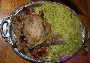 5acc606eb00db tarztahiye baghalipolobaghosht irnab ir طرز تهیه باقالی پلو با گوشت
