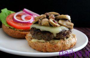 5acf11daca2b5 tarztahiyehambergher khaneghibaghoshtosoya irnab ir طرز تهیه همبرگر خانگی با گوشت و سویا