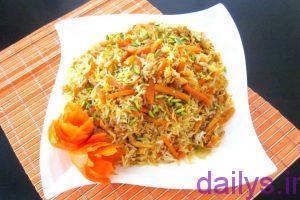 5ad2e902d97a5 tarztahiye havijpoloshirazi irnab ir طرز تهیه هویج پلو شیرازی