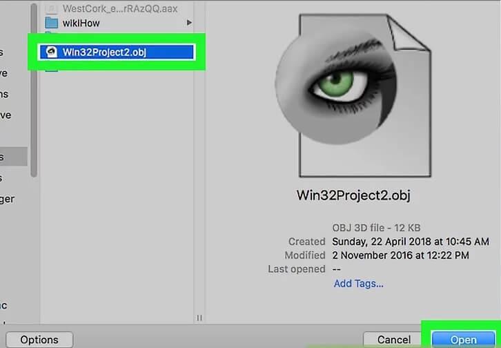 5aeaaebc7baff نحوه ی بازکردن فایل های obj سیستم عامل م irnab ir نحوه ی بازکردن فایل های Obj در سیستم عامل مک