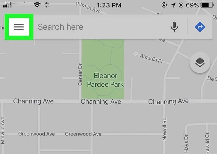5aed456a4bfff نحوه حذف مکان های ذخیره شده google maps با استف irnab ir نحوه حذف مکان های ذخیره شده در Google Maps با استفاده از iPhone یا iPad