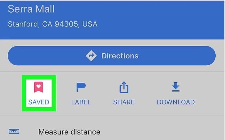 5aed458b4e374 نحوه حذف مکان های ذخیره شده google maps با استف irnab ir نحوه حذف مکان های ذخیره شده در Google Maps با استفاده از iPhone یا iPad