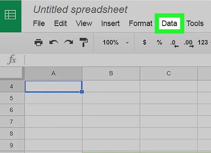5aeecc943f974 ایجاد فهرست کشویی google sheets با استفاده س irnab ir ایجاد فهرست کشویی در Google Sheets با استفاده از سیستم ویندوز و مک