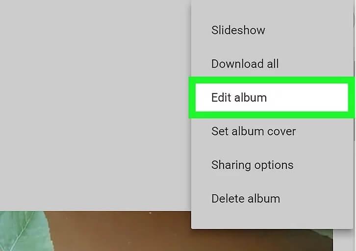 5af000642d321 نحوه ی اضافه موقعیت مکانی آلب 2 irnab ir نحوه ی اضافه کردن موقعیت مکانی به یک آلبوم در Google Photos