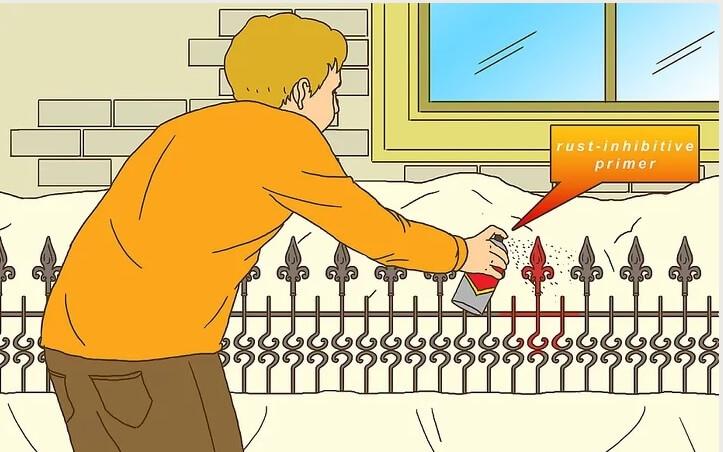 5af159e9d3760 روش رنگ آمیزی نرده ها irnab ir روش رنگ آمیزی نرده ها