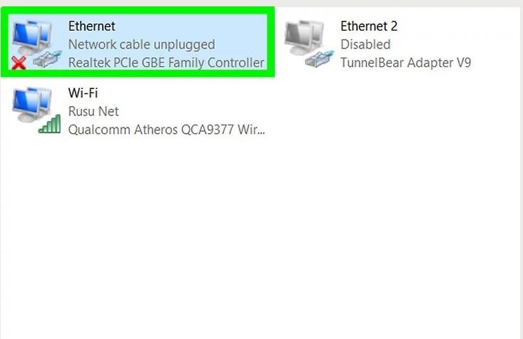 5af82bb189fa1 سرعت اترنت را سیستم ویندوز برر irnab ir چگونه سرعت اترنت را در سیستم ویندوز بررسی کنیم؟
