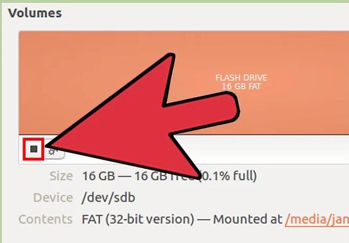 5afd42948bff6 نحوه فرمت fat32 سیستم عامل لینوکس ubuntu irnab ir نحوه فرمت FAT32 در سیستم عامل لینوکس Ubuntu