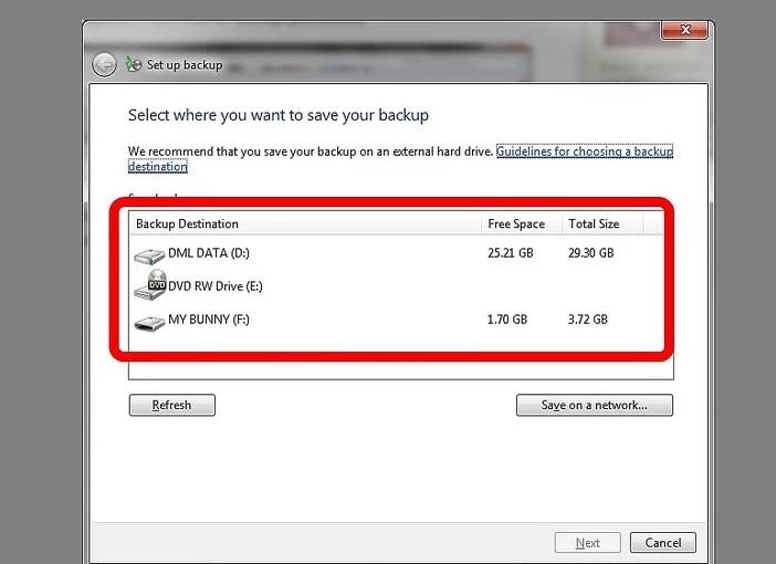 5b0bc267c67f4 نحوه ی اسکن پشتیبان گیری لپ تاپ با ا irnab ir نحوه ی اسکن و پشتیبان گیری از لپ تاپ با استفاده از ویندوز 7