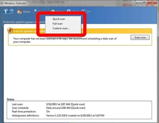 5b0bc26e9d031 نحوه ی اسکن پشتیبان گیری لپ تاپ با ا irnab ir نحوه ی اسکن و پشتیبان گیری از لپ تاپ با استفاده از ویندوز 7