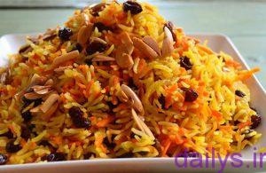 tarztahiye havijpolobaghosht irnab ir طرز تهیه هویج پلو با گوشت چرخ کرده
