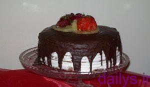 tarztahiye keykbarokeshshokolati irnab ir طرز تهیه کیک با روکش شکلاتی