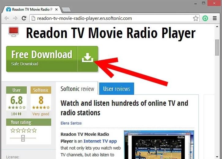 تماشای فوتبال آنلاین صورت رایگان با 2 irnab ir تماشای فوتبال آنلاین به صورت رایگان با استفاده از Readon TV Movie Radio Player