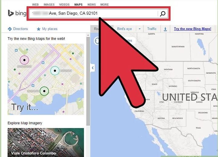 مشاهده ی جزئیات ترافیک طریق bing maps irnab ir مشاهده ی جزئیات ترافیک از طریق Bing Maps
