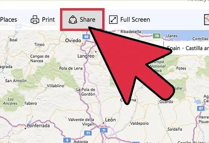 5b389d50f105f اشتراک گذاری آدرس bing map irnab ir اشتراک گذاری آدرس در Bing Map