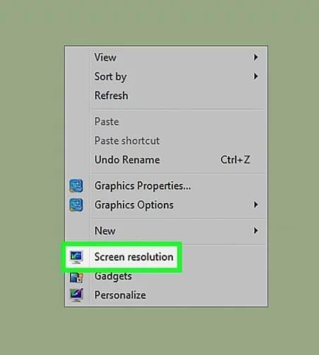 تغییر رزولوشن صفحه ویندوز 7 8 irnab ir تغییر رزولوشن صفحه در ویندوز 7 و 8