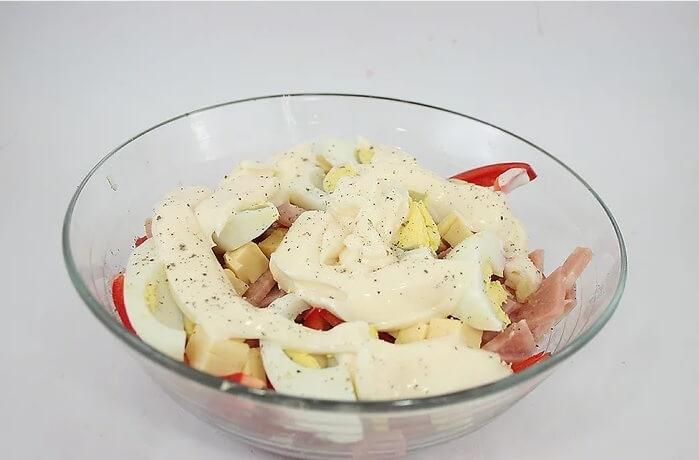 طرز تهیه ی سالاد بدون سبزیجات سبز irnab ir طرز تهیه ی سالاد بدون سبزیجات سبز