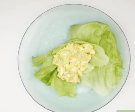 طرز تهیه ی سالاد تخم مرغ irnab ir طرز تهیه ی سالاد تخم مرغ